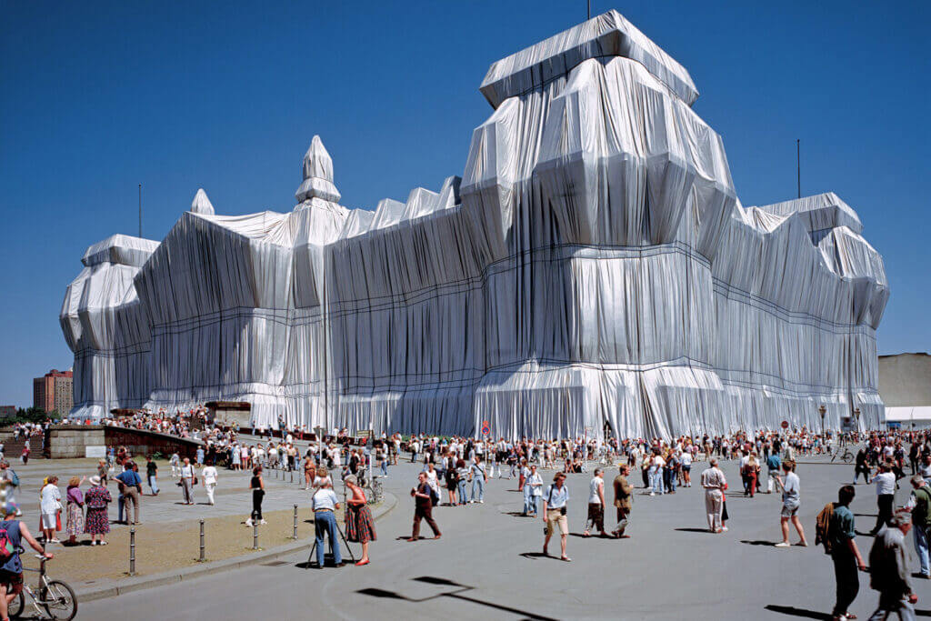 Christo - Wrapped Reichstag, Berlin, 1971-1995