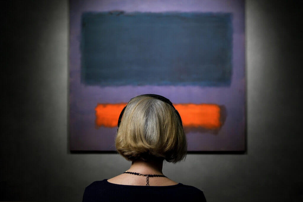 Mark Rothko - Grey, Orange on Maroon, No. 8, 1960